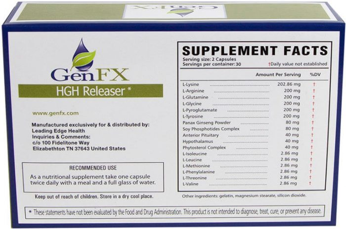 GenFX supplement