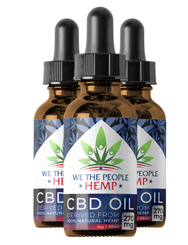 We The People CBD Hemp Oil