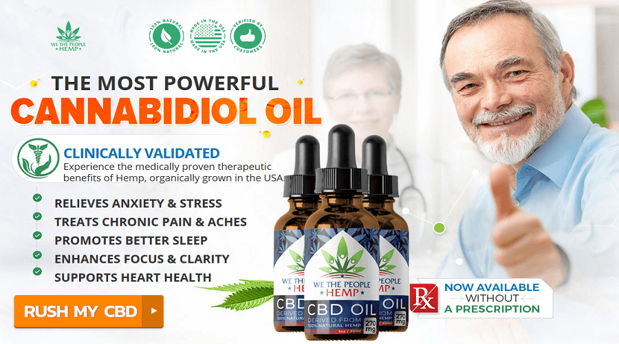 Order We The People CBD Oil