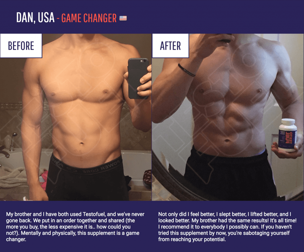 testofuel before and after