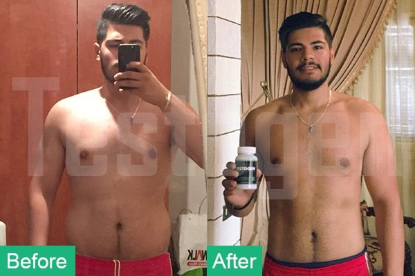 Testogen before after results