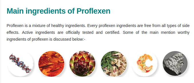 proflexen ingredients