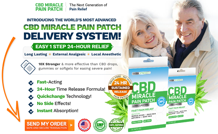 Order CBD Miracle Pain Patch