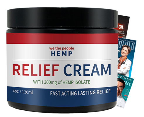 WTP Hemp Relief Cream