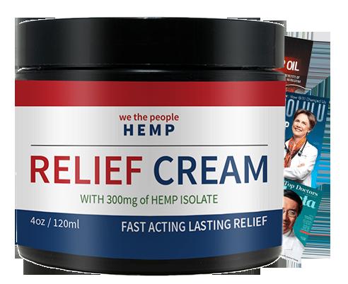WTP Hemp Relief Cream