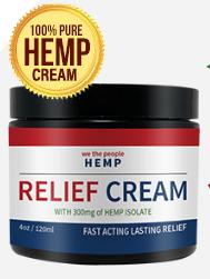 We The People Hemp Relief Cream