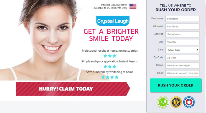 Crystal Laugh Teeth