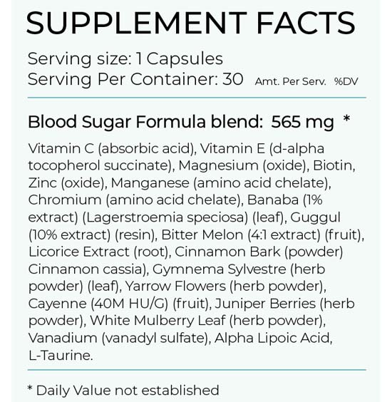 Blood sugar formula Facts