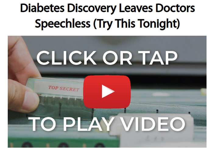 Blood sugar formula video