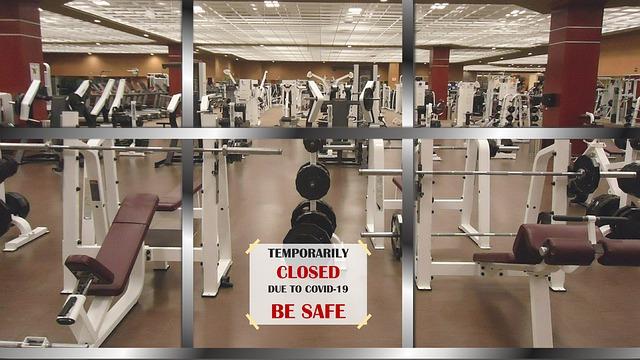 pandemic gym closed